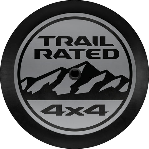 Trail Rated Tire Cover by Mopar ('18-'19 Wrangler JL)