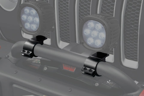 Winch Guard Light Mounting Bracket - ('18-'20 Wrangler JL, '20 Gladiator JT)