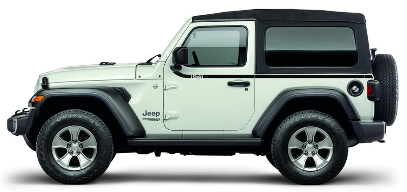 """1941"" Swoosh Side Decal by Mopar (2018+ Wrangler JL)"