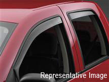 Jeep Patriot Side Window Deflectors by WeatherTech (Patriot MK)