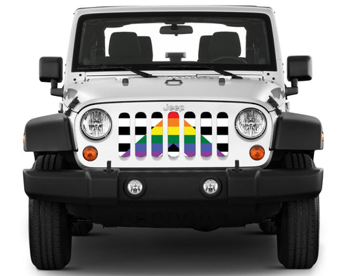 """Ally Flag"" Grille Insert by Dirty Acres"