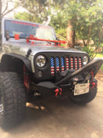 American flag grill insert for Jeep