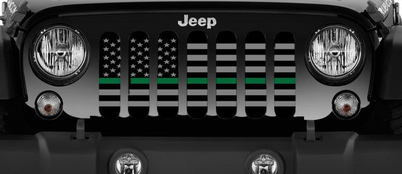 """American Tactical Thin Green Line"" Grille Insert by Dirty Acres"
