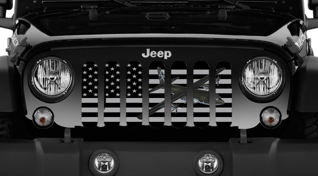 """C130"" Grille Insert From Dirty Acres ('76-'18 Wrangler YJ, CJ, TJ, JK, JKU) - Jeep World"