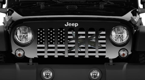 """C130"" Grille Insert From Dirty Acres ('76-'19 Wrangler YJ, CJ, TJ, JK, JL)"