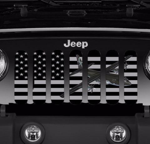 """C130"" Grille Insert by Dirty Acres (Wrangler, Gladiator, Renegade, G.Cherokee)"
