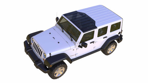 Transparent Hard Top Replacement Panels by ClearLidz ( '07 - '08 Wrangler JK & JKU)