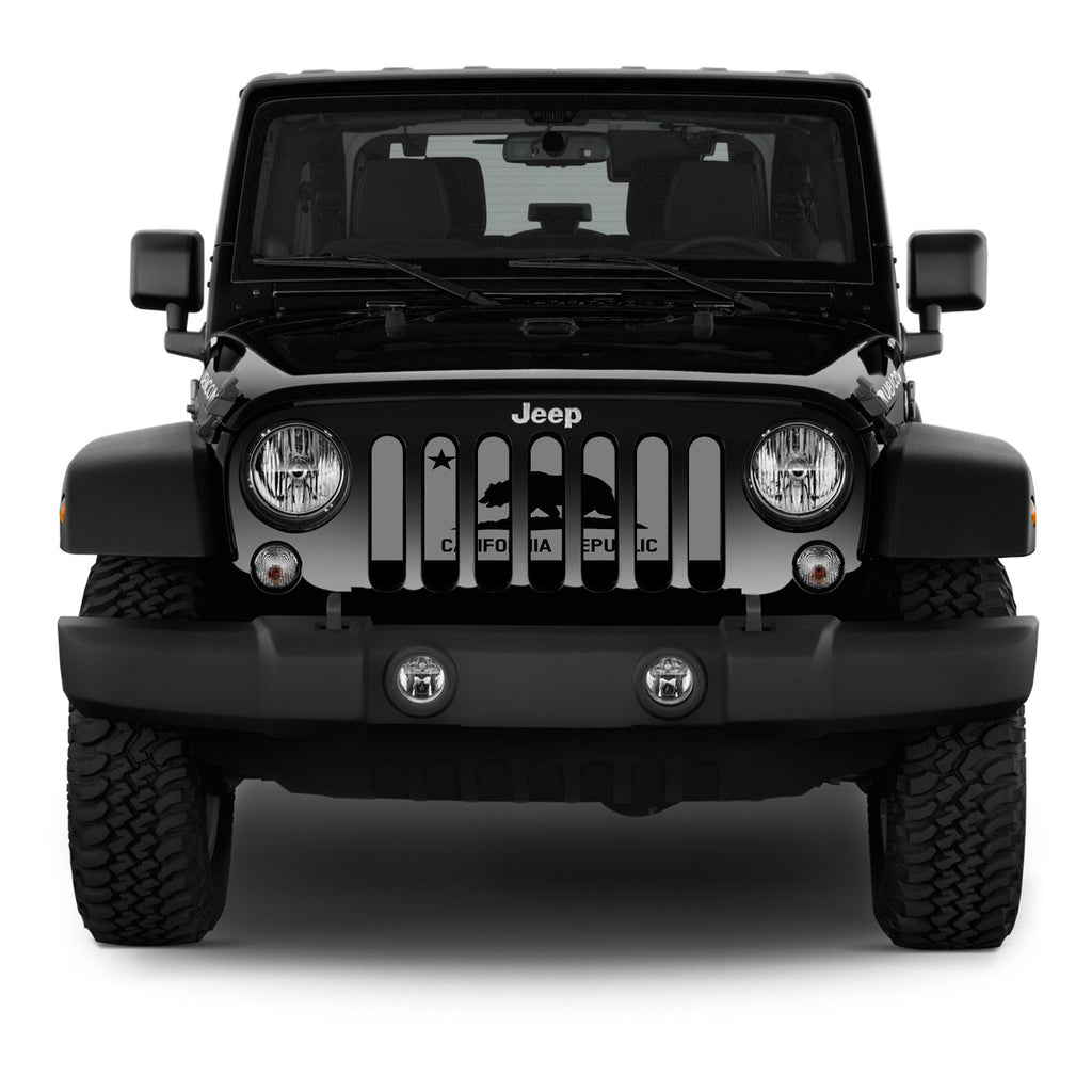 California Republic Tactical Jeep Grille Insert | Dirty ...