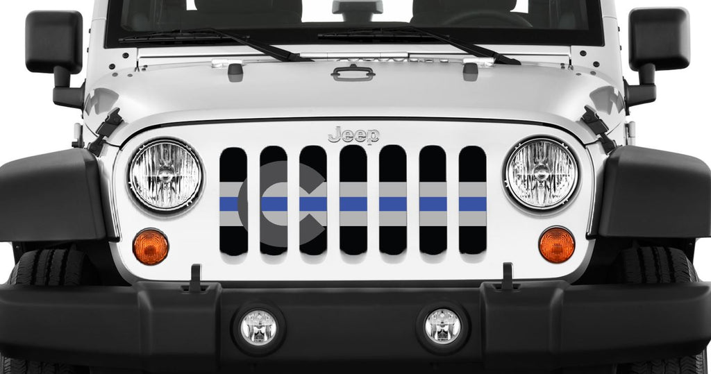 """Colorado Tactical BTB"" Grille Insert by Dirty Acres ('76 - '18 Wrangler CJ, YJ, TJ, JK, JKU) - Jeep World"