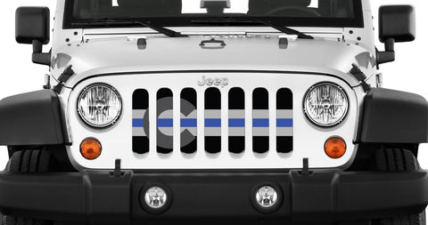"""Colorado Tactical BTB"" Grille Insert by Dirty Acres (Wrangler, Gladiator)"