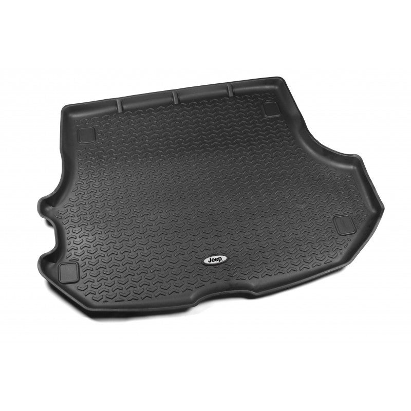 Cargo Liner, Black, Jeep Logo by Rugged Ridge ('99-'04 Jeep Grand Cherokee WJ) - Jeep World