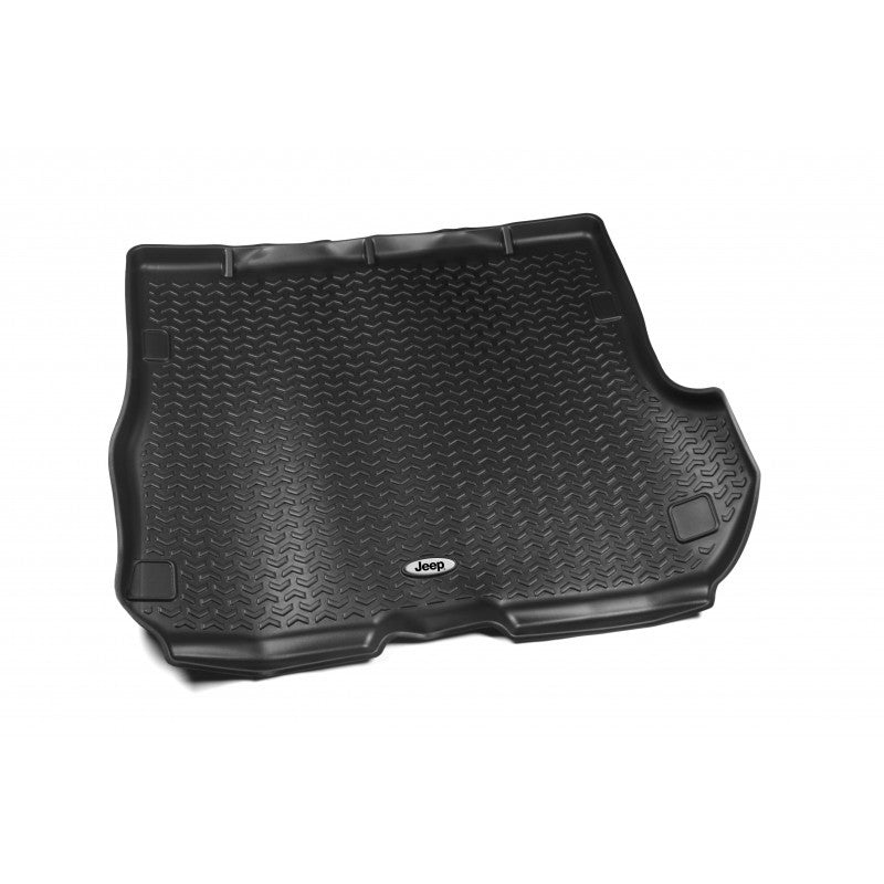 Cargo Liner, Black, Jeep Logo by Rugged Ridge ('93-'98 Jeep Grand Cherokee ZJ) - Jeep World