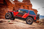 Body Mounted Tire Carrier by DV8 Offroad (18+ Wrangler JL)