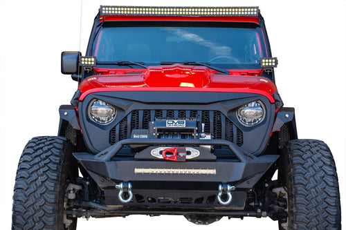 Replacement Grill -Black by DV8 Offroad (18+ Wrangler JL)