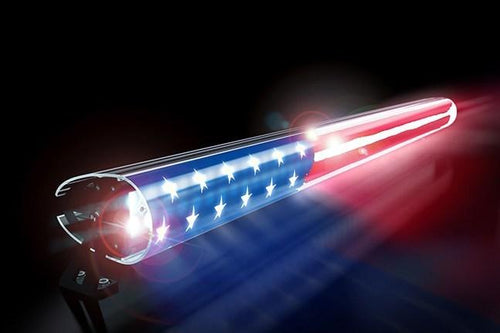 American Flag Light Bar Insert by AeroX Industries (Universal)