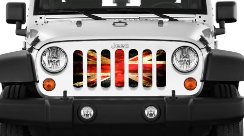 """English Rock"" Grille Insert by Dirty Acres (Wrangler, Gladiator)"