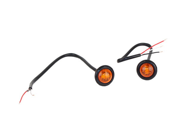 3  4 u0026quot  amber led lights for wrangler tj