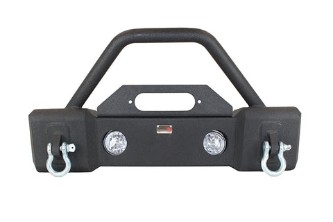 Front Stubby Winch Bumper with Tube Guard ('07-'18 Wrangler JK)