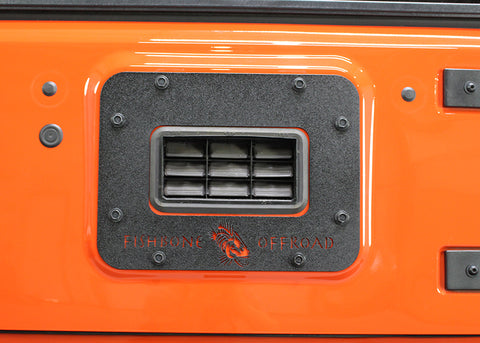 BackSide Tailgate Plate by Fishbone Offroad ('10-'18 Wrangler JK)
