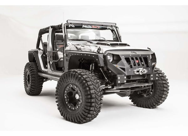 Grumper Winch Front Bumper For Wrangler Jk Jeep World