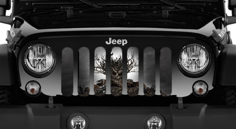 Floor Liners, Rear, Tan, Jeep Logo (Universal)