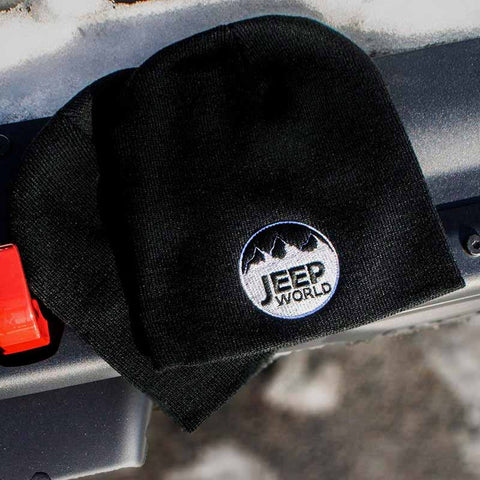 Jeep World Knit Winter Hat / Beanie