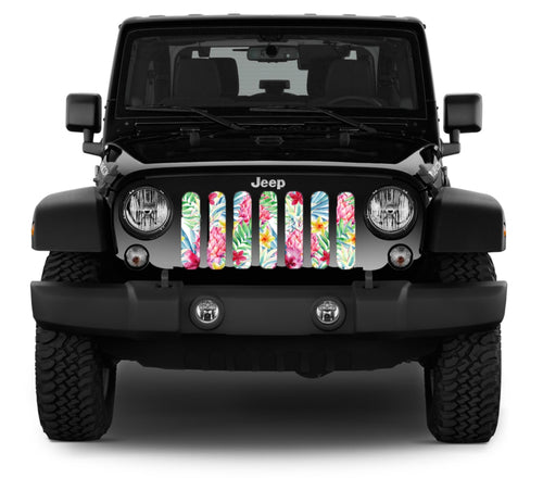"""Hawaiian Daydream"" Grille Insert by Dirty Acres"