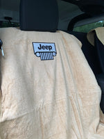 Jeep Seat Towel with Grille Logo (Universal)