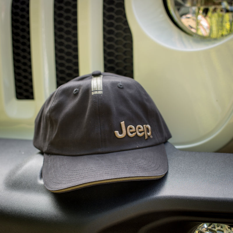 Jeep Black and Olive Cap by Jeep