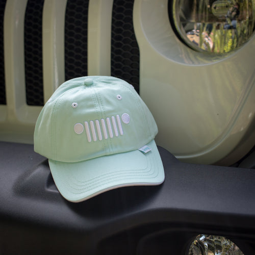 Jeep Ladies Grille Hat, Mint Green
