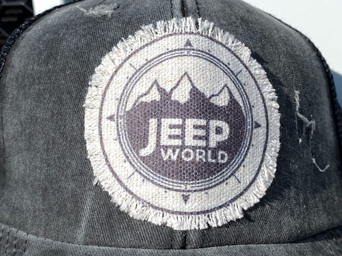 Jeep World High Pony Hat