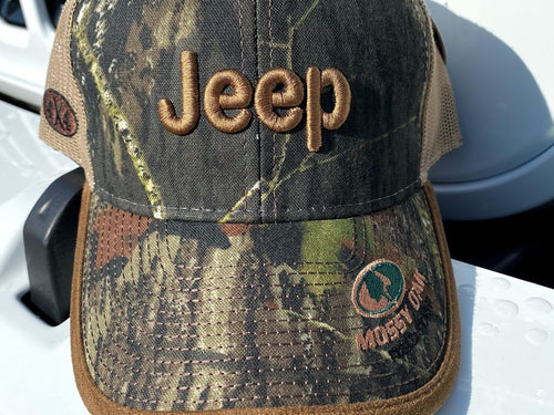 Mossy Oak Jeep Hat