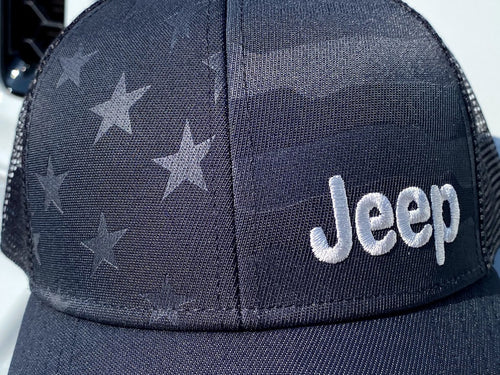 Patriotic Jeep Hat