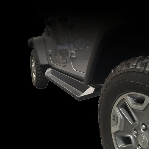 Rock Slider Step by DV8 Offroad (07-18 Wrangler JK)
