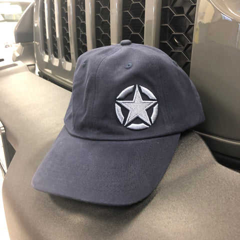 Navy Star Hat by Jeep