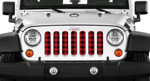 """LumberJack"" Grille Insert by Dirty Acres ('76 - '19 Wrangler CJ, YJ, TJ, JK, JL, '20 Gladiator JT)"