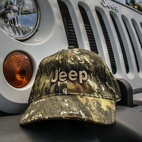 Jeep Mossy Oak Camo Pattern Hat