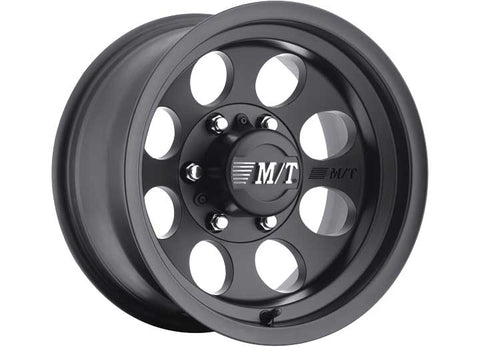 Classic III Wheel, 5x5 Bolt Pattern, 18x9, Black by Mickey Thompson ('07-'18 Wrangler JK)
