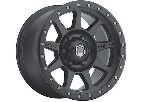 Deegan 38 Pro 4 Wheel, 18x9, 5x5 Bolt Pattern, Black by Mickey Thompson ('07-'18 Wrangler JK)