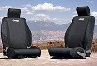 Mopar OEM Seat Covers, Rear-82213701 ('13-'18 Wrangler JKU)