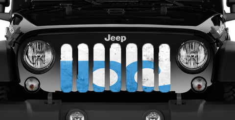 """Ocean City"" Grille Insert by Dirty Acres ('76 - '19 Wrangler CJ, YJ, TJ, LJ, JK, JL)"