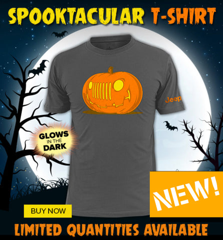 Jeep Glow In The Dark Pumpkin Shirt
