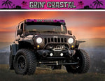 """Goin' Coastal"" Light Bar Insert by Aerox Industries (Universal)"