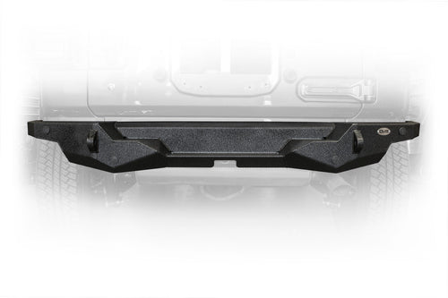 High Clearance Rear Bumper by DV8 Offroad  (18+ Wrangler JL)