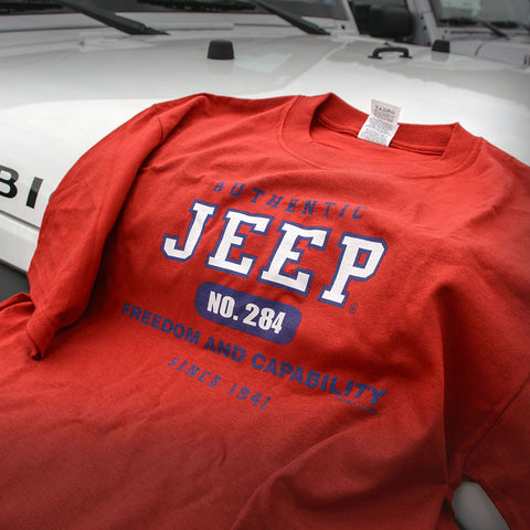 "Jeep Authentic T-shirt ""Freedom and Capability"""