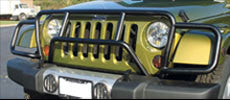 "RealWheels ""Enforcer"" Grille Guards ('07-'16 Wrangler JK)"