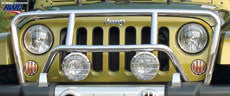 RealWheels Grille Guards ('07-'18 Wrangler JK) - Jeep World
