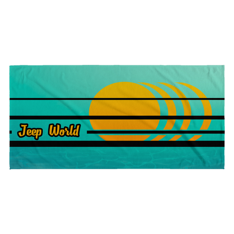 Jeep World Islander Beach Towel