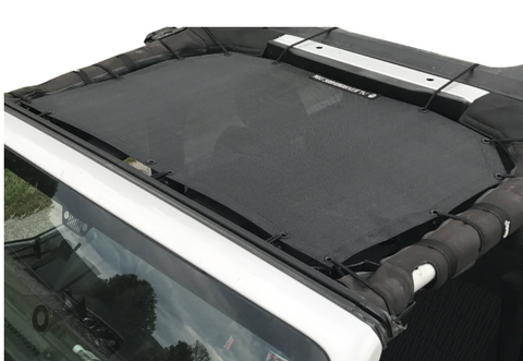 JKF Front Sunshade, Various Colors by Alien Sunshade ('07-'18 Wrangler JK)
