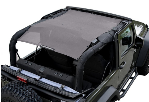 Full Sunshade, Various Colors by Alien Sunshade ('07-'18 Wrangler JK 2 Door)